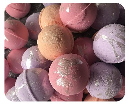 Order Your Favorite Scented Bath Bombs Below