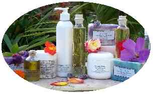 Lotion, Cream, Soaps and Oils.